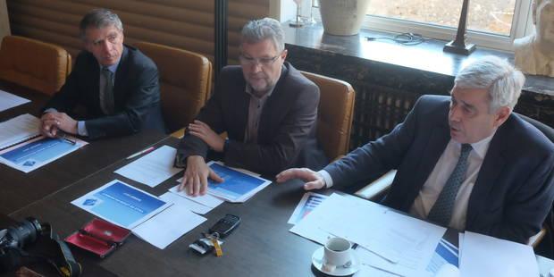 Leuze: près de 9 millions d'euros d'investissement dans la cité bonnetière - La DH