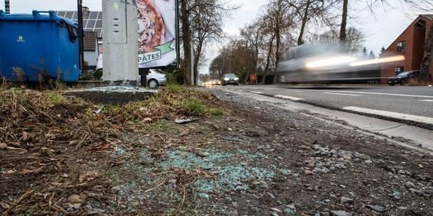 Spiennes : nouvel accident de la route à la barrière de Spiennes - La DH