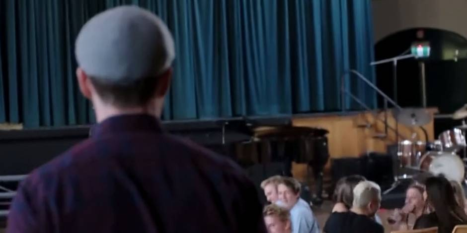 Justin Timberlake débarque en surprise à leur cours de chant (VIDEO)