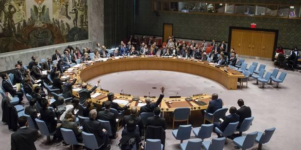 Arrêt de la colonisation israélienne: la résolution adoptée à l'ONU, les USA s'abstiennent - La DH
