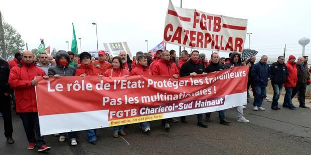 Caterpillar Gosselies: un accord pour les travailleurs d'au moins 55 ans