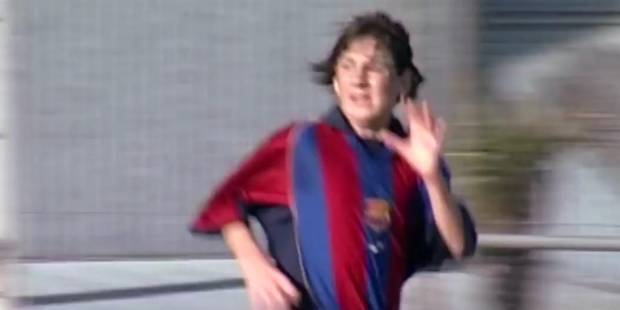 Quand Messi était ado, il marquait déjà beaucoup de buts (VIDEO) - La DH