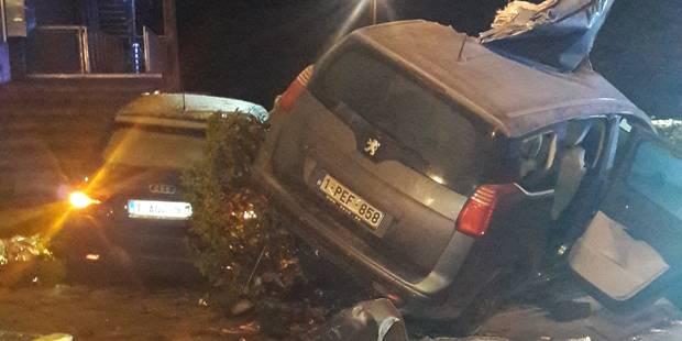 Strépy-Bracquegnies: 6 personnes blessées dans un accident de la route