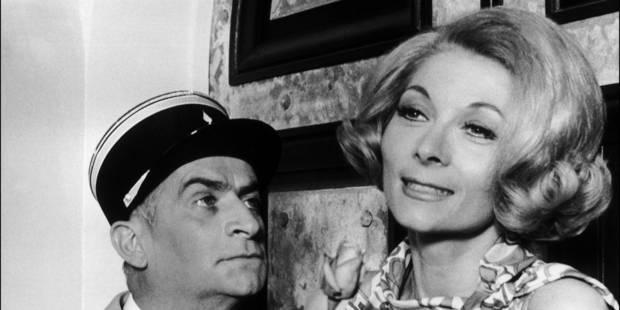 Claude Gensac, l'éternelle épouse de Louis De Funès au cinéma, est décédée (PHOTOS + VIDEO) - La DH