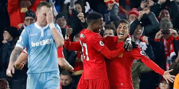 Belges à l'étranger: victoire de Liverpool sur Stoke, Mignolet et Origi titulaires - La DH