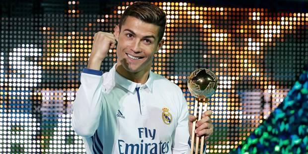 Encore un trophée individuel pour Cristiano Ronaldo en 2016 - La DH