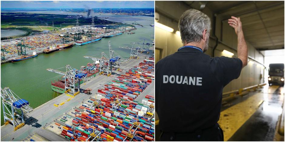 Record absolu: 30 tonnes de cocaïne en 2016 au port d'Anvers - La DH