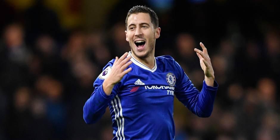 Eden Hazard couronné d'éloges après son match de feu face à Bournemouth