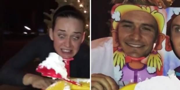 Quand Orlando Bloom et Katy Perry s'essayent au jeu qui fait fureur, ça tache (VIDEOS) - La DH