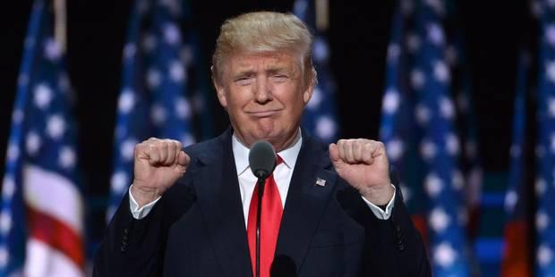 """Trump souhaite la bonne année, même à ses """"nombreux ennemis"""" - La DH"""
