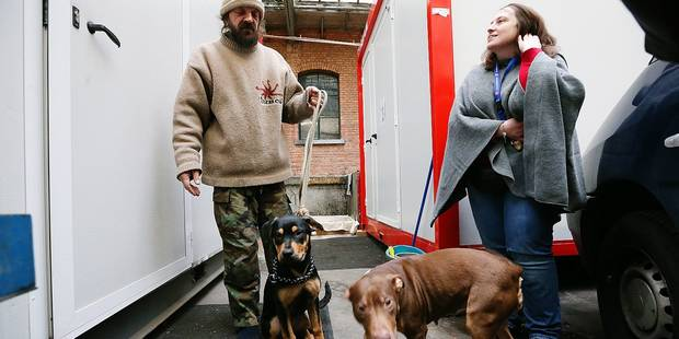 Un Nouvel An au chaud pour les sans-abri et leur chien - La DH