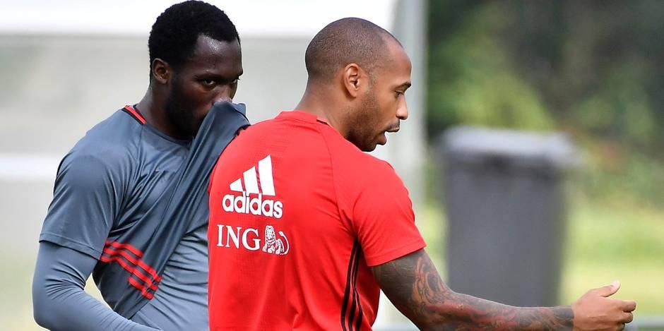 """Thierry Henry : """"Lukaku doit apprendre à se créer des occasions tout seul"""""""