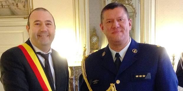 Le nouveau chef de la police hutoise a prêté serment - La DH