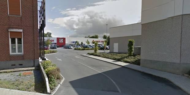 Attaque à la voiture-bélier contre un magasin Tom&Co à Courcelles - La DH