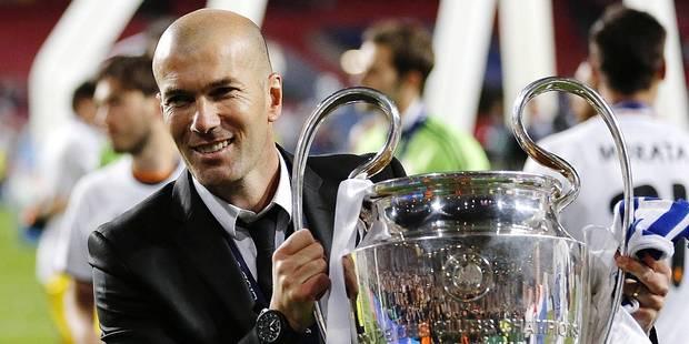 Zidane, déjà un an de succès avec le Real - La DH