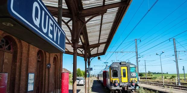 Trois motions pour assurer la ponctualité de la ligne Mons-Quévy - La DH