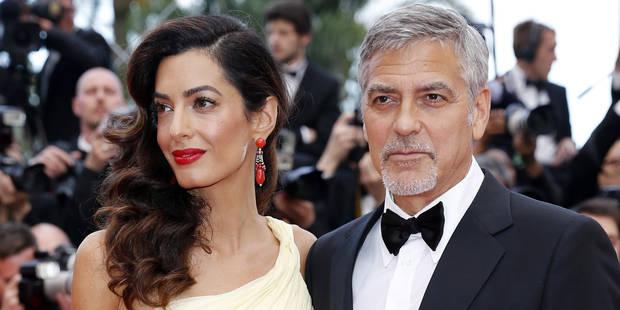 Amal Clooney enceinte de jumeaux? - La DH