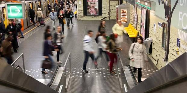 Un quart des stations de métro bruxelloises équipées de wifi (CARTE) - La DH