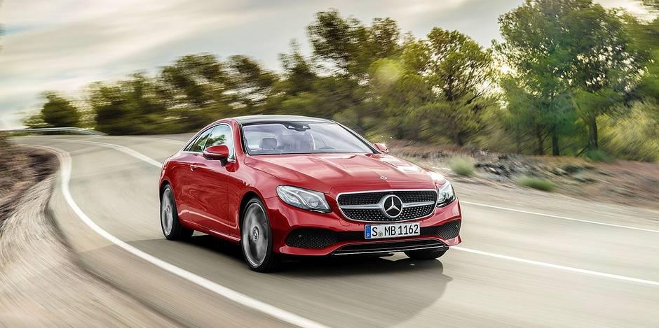 Mercedes Classe E: un coupé sportif et raffiné - La DH