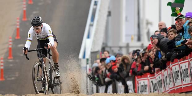 """Wout Van Aert à nouveau champion de Belgique de cyclo-cross: """"J'étais persuadé que le speaker exagérait"""" - La DH"""
