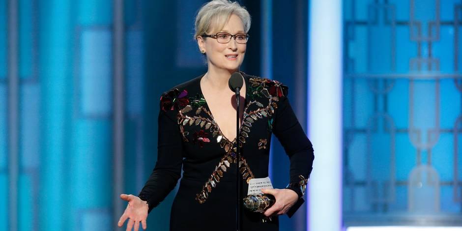 Meryl Streep s'érige contre Donald Trump dans un discours percutant — Golden Globes