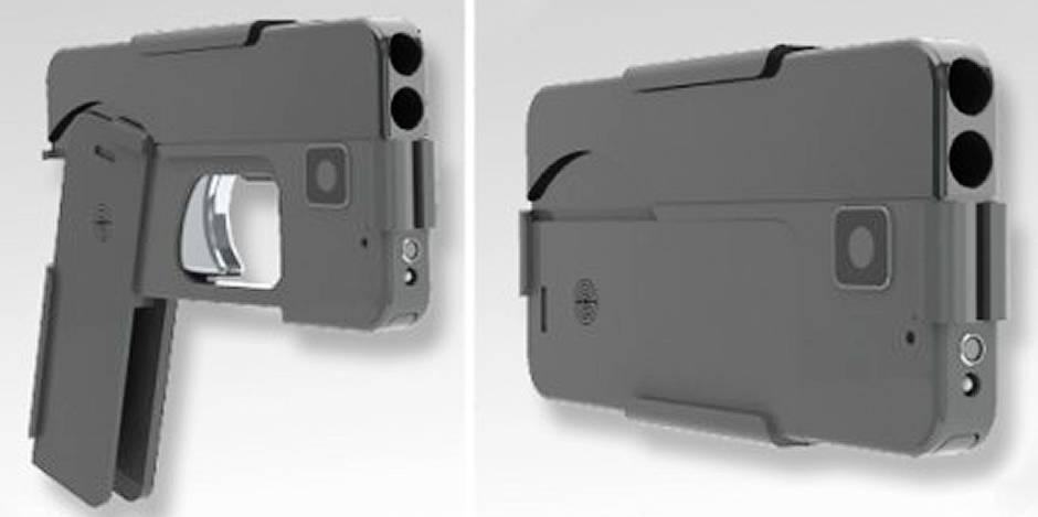 """L'inquiétant """"iPhone gun"""" débarque en Belgique: le téléphone portable qui tue - La DH"""
