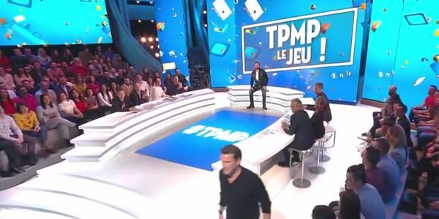 Benjamin Castaldi, vexé, quitte le plateau de TPMP (VIDEO) - La DH