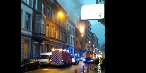 Incendie rue Louvrex à Liège ! - La DH
