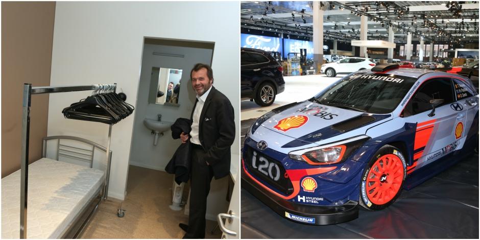 Pendant 10 jours, le le directeur du salon de l'auto vivra.... dans un palais (Photos et Videos) - La DH