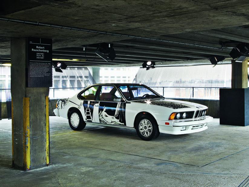 1986 Robert Rauschenberg BMW 635 CSi