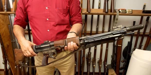 9.000 euros d'amende avec sursis pour avoir détenu près de 400 armes chez lui à Couvin - La DH