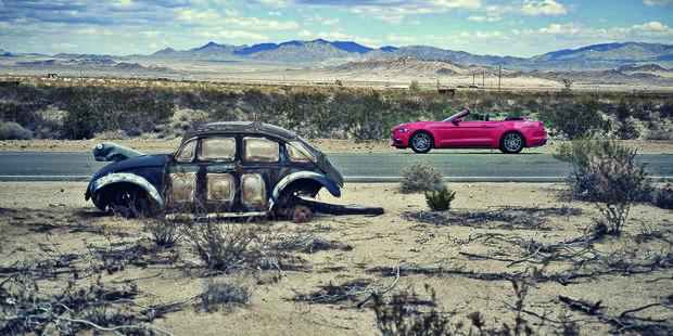 La Californie en Ford Mustang - La DH