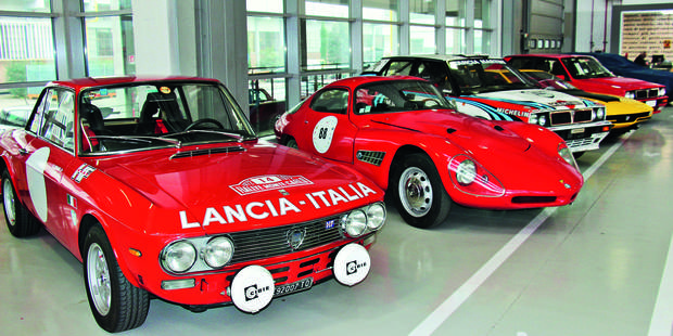 Au coeur de l'usine historique Mirafiori à Turin, Abarth Classiche préfigure le «FCA Classiche» - La DH