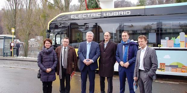 Les bus zéro émission débarquent à Namur - La DH
