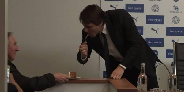 Antonio Conte gourmand et affamé en conférence de presse (VIDEO) - La DH