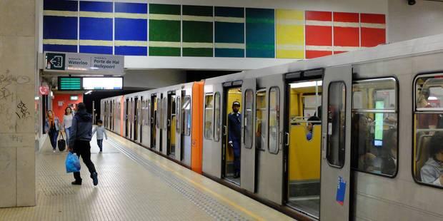 Jette : Un déséquilibré écrasé par un métro - La DH