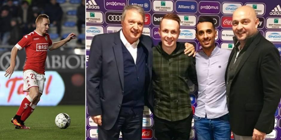 """Adrien Trebel signe à Anderlecht: le joueur """"fier et heureux"""" de ce transfert"""