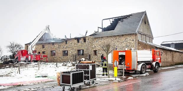 Plombières : une ferme totalement détruite par le feu ! - La DH