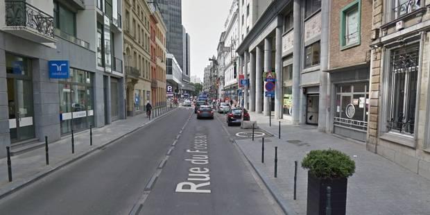 Colis suspect à Bruxelles, la police déconseille les environs de la rue Fossé-aux-Loups - La DH