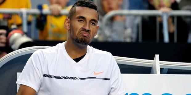 Tweener inutile, grosse colère et nonchalance: Kyrgios désespère ses fans à l'Open d'Australie (VIDEOS) - La DH