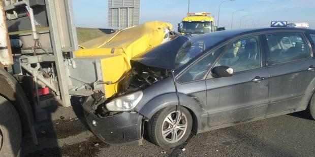 Gouy-lez-Piéton: Il percute un camion-tampon - La DH