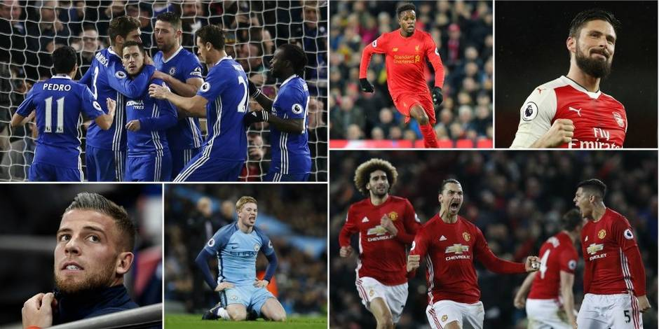 Premier League: six prétendants pour un trône d'Angleterre