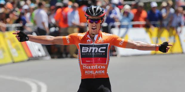 Tour Down Under: Richie Porte enlève la 5e étape et conforte son maillot de leader