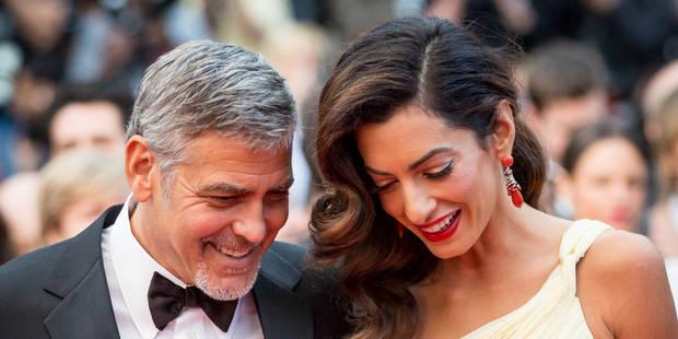 Amal Clooney enceinte de jumeaux : la rumeur qui se confirme - La DH