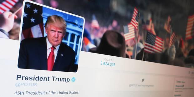 """Trump assure qu'il """"n'aime pas tweeter"""" - La DH"""