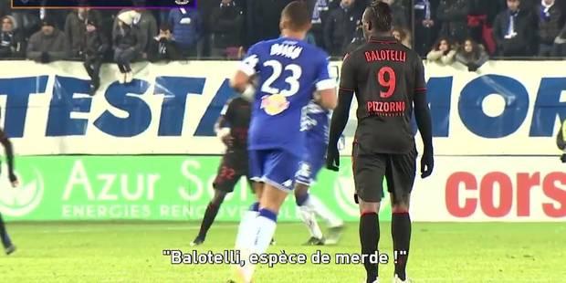 De nouvelles images accablent les supporters bastiais qui ont copieusement insulté Balotelli (VIDEOS) - La DH