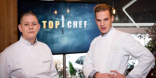 Maximilien et Julien: deux Belges au caractère bien trempé à Top Chef (VIDEO) - La DH