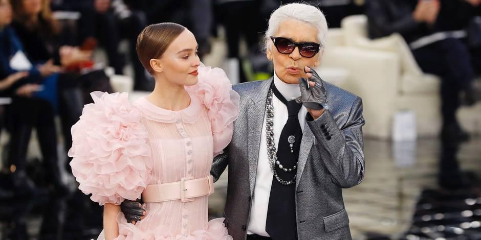 Lily-Rose Depp a fait sensation en robe de mariée pour Chanel