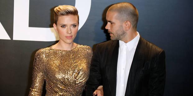 Scarlett Johansson divorce de son mari français - La DH