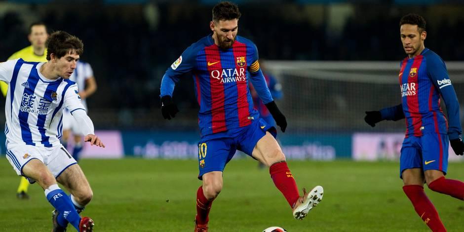 Foot/Coupe d'Espagne - Le Barça en patron et en demi-finale